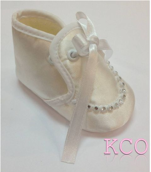 Style FJS011 White~ Girls Shoes